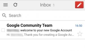 create email account gmail